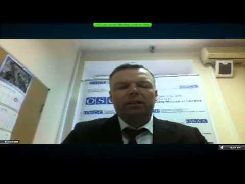 Alexander Hug: update on OSCE SMM activity in Ukraine. UCMC-11-03-16