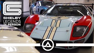 Authentic Le Mans Winning GT40 & Daytona Coupe at OVC | 2 Cars = $90 Million in Value