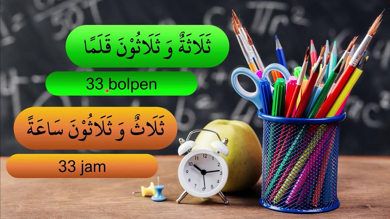 Angka 31-40 Bahasa Arab Belajar Menghitung Arab