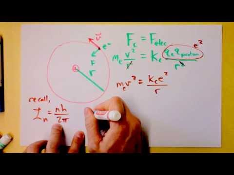 Intro to Bohr's Model of the Hydrogen-Like Atom | 1 of 3 | D