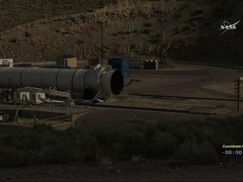 Raw: NASA Conducts Booster Test