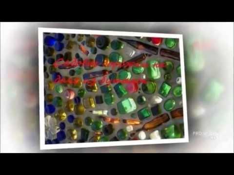 видео: Дорожки на даче из бутылок. Садовые дорожки из пластиковых бутылок
