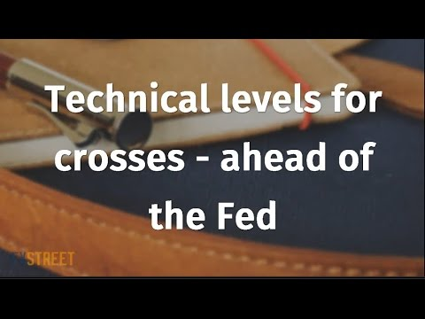 Technical levels for crosses - ahead of the Fed