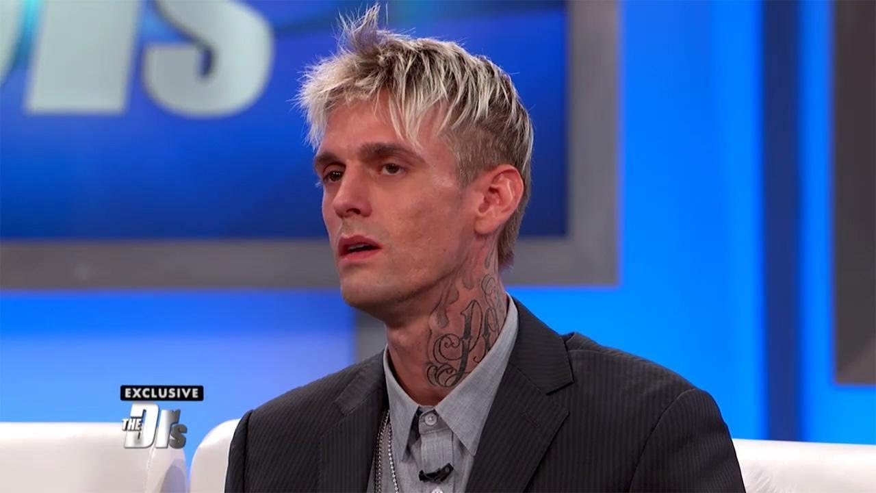 aaron carter gets emotional after getting results of his hiv test on