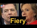 Breaking News , FBI Director James Comey Testifies at Hearing on Russia , Hillary Clinton[HD]