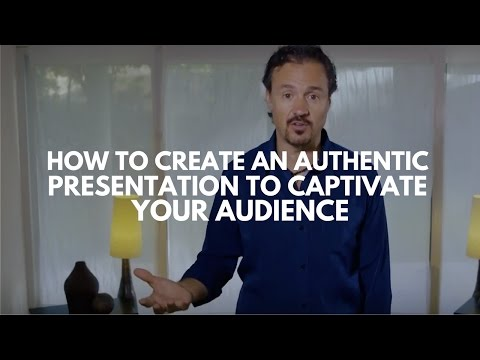 How To Create An Authentic Presentation To Captivate Your Audience | Eric Edmeades