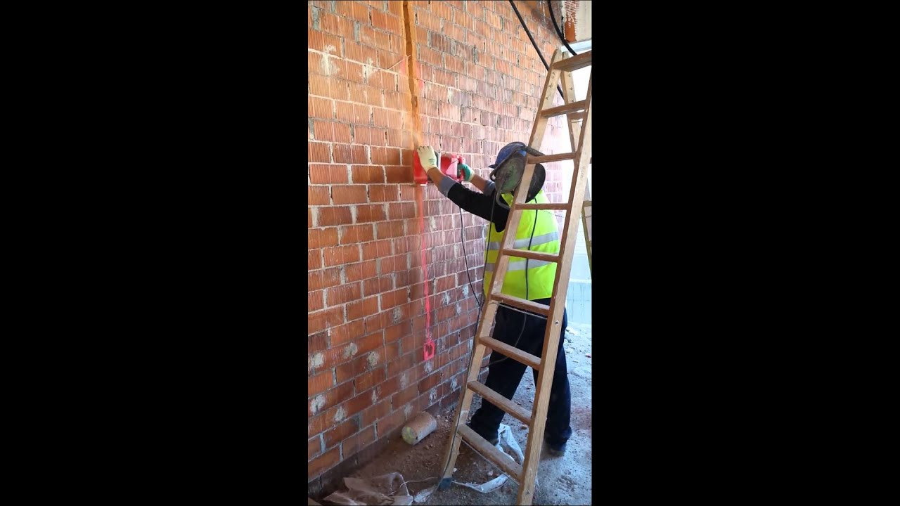 wiring double brick wall wire data u2022 rh pressdis co Double Sided Retaining Wall Blocks install door double brick wall