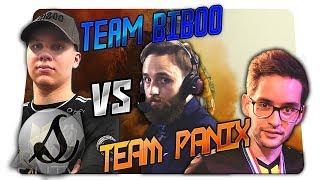 Team Biboo VS Team Panix | Showmatch TTS avec les nouveaux paramètres Proleague ! -VOD
