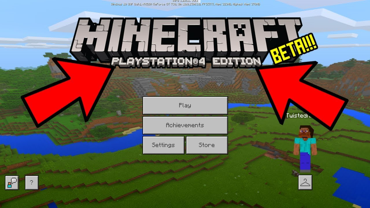 Minecraft Better Together Coming To PS4? Bedrock Crossplay PE, Switch & Xbox