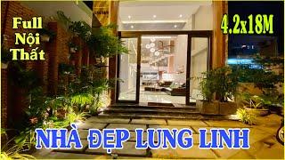 Bán nhà Gò Vấp 662 | Siêu phẩm ĐẸP ĐỨNG HÌNH 4 lầu tặng nội thất Ngay Nguyễn Văn Lượng Gò Vấp