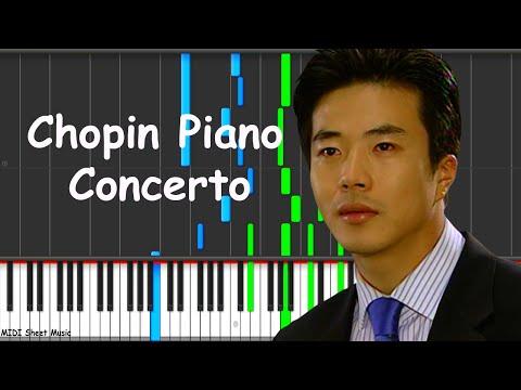 Escalera al Cielo - Chopin Piano Concerto No.1 Op.11 Piano Tutorial