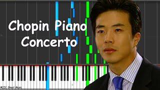 Escalera al Cielo - Chopin Piano Concerto No.1 Op.11 Piano midi