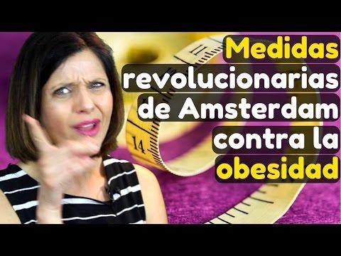 Medidas revolucionarias de Amsterdam contra la obesidad