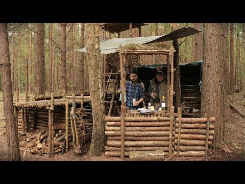 Bushcraft & Fishing - Catch and Cook Fresh Fish at The Bushcraft Camp