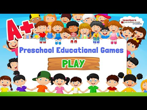 "A+ Preschool Educational Games ""Educational  Apps For Toddlers & Pre-schoolers"" Android Apps Video"