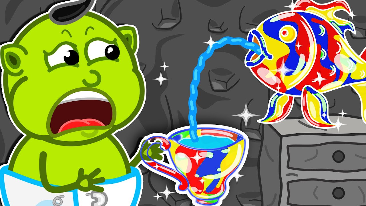 ? Journey to the Center of the Earth #27. Rainbow Dishes | Cartoon for Kids
