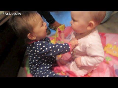 BABY FRIENDS!! - June 10, 2013 - itsJudysLife Vlog