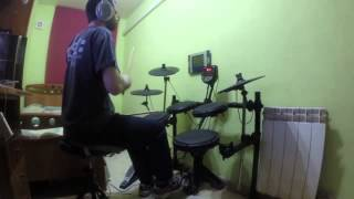 Devin Townsend - Pixillate - Drum Cover