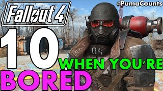 Top 10 Things to Do in Fallout 4 When You re Bored or After You Beat It PumaCounts