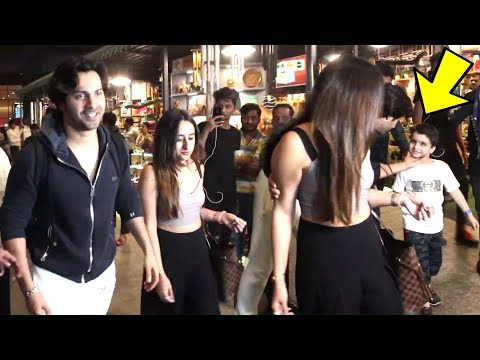 Varun Dhawan SWEET GESTURE For a Little Fan | SPOTTED With GF Natasha Dalal At Mumbai Airport