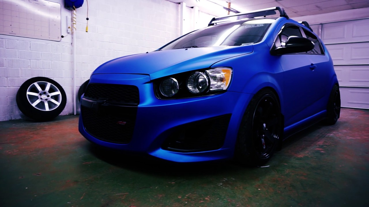 Chevy Sonic Custom >> Full Custom Chevy Sonic Vehicle Wrap And Custom Work Done By Ead Exclusive Auto Design