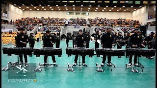 Norfolk's 'Million Dollar Funk $quad' Percussion Feature @ the 2019 Band Brawl