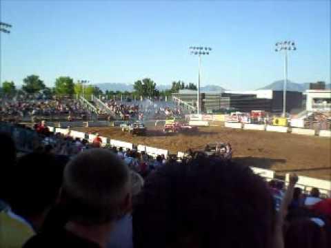 2011 West Jordan, Utah, Demolition Derby, Heat 1