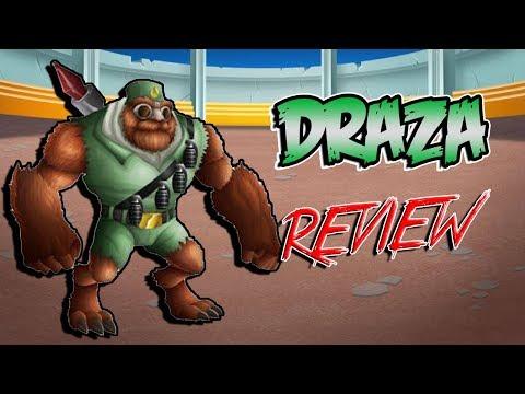 DRAZA EL 1000LITAR !! Review Monster Legends