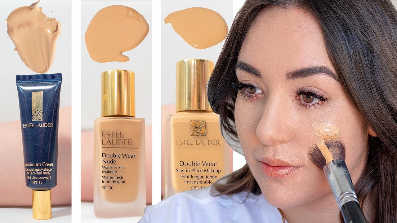 Welche Estee Lauder Foundation Passt Zu Dir Youtube