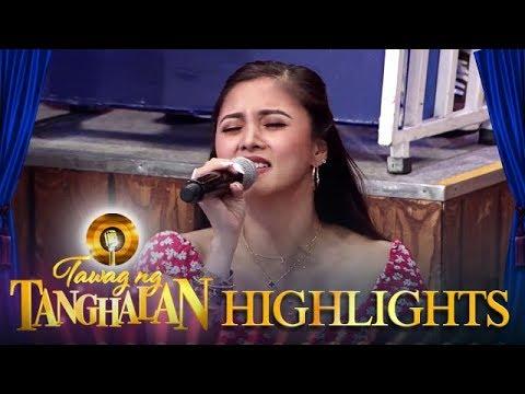 Kim proves that she can sing   Tawag ng Tanghalan