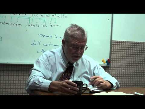 How Latin poetry should be read aloud by Dr  Michael Skupin