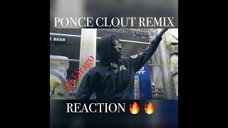 PONCE - CLOUT FREESTYLE |REACTION| SHADY BEARDS