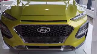 Hyundai Kona Suv 2020 First Walk Around Detailed Review Vs Volkswagen T-roc