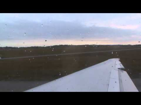 Blue1 Boeing MD-90 (leisure flight) takeoff from Helsinki-Vantaa airport