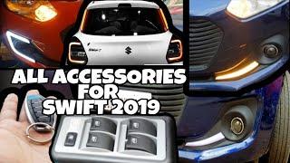 2019 SWIFT LXI》Modified Swift》New DRL's Swift 2019》Power Windows》Centre Locking》Auto Folding Mirror