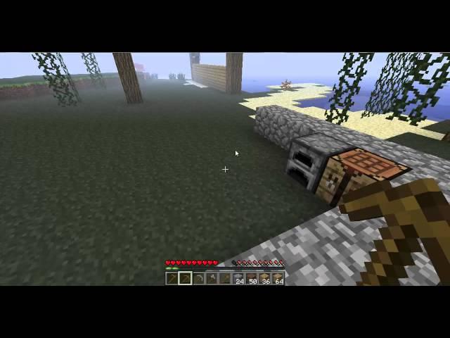 Minecraft osa 2 Talon kyhäilyä ja TIMANTTEJA