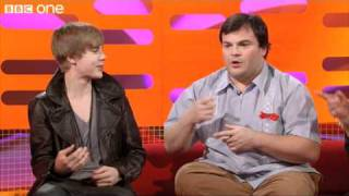 justin bieber jack black jam the graham norton show preview series 8 episode 6 bbc one