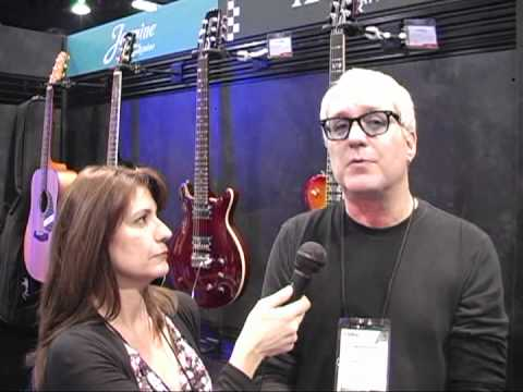 Frankie DiVita interviews Hugh McDonald of Bon Jovi at NAMM 2012