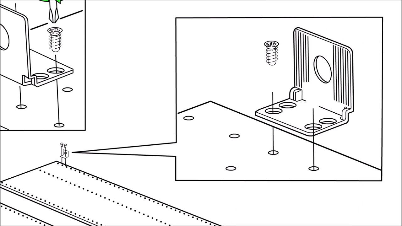 Ikea Pax Schrank Zusammenbauen Videobedienungsanleitung Youtube