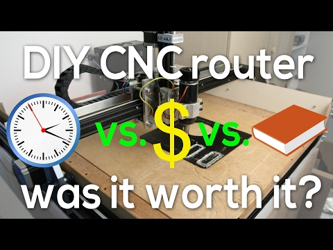 DIY CNC router - Was it worth it?
