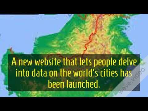 Maps reveal hidden truths of the world's cities - BBC News