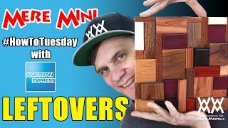 Amex Everyday: Scrap Wood Art | Mere Mini