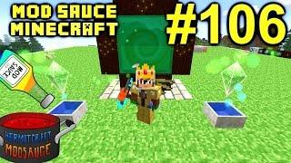 Minecraft Mods - Mod Sauce Ep. 106 - Alfheim Portal !!! ( HermitCraft Modded Minecraft )