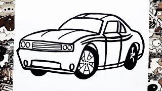 Como dibujar un carro | how to draw a car