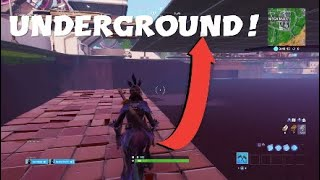 HOW TO GET UNDERGROUND AT MEGA MALL! FORTNITE SEASON 9 GLITCH!