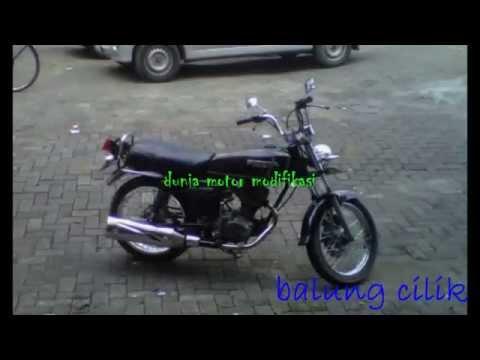 Video Modifikasi Motor Honda Gl100 Modif Gl X Youtube
