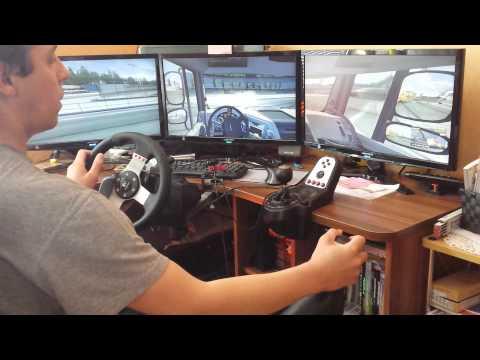 Работаю виртуальным дальнобойщиком в игре ЕТS 2 multiplayer №1