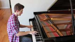 Calvin Harris: Outside Ft. Ellie Goulding (elliott Spenner Piano Cover)