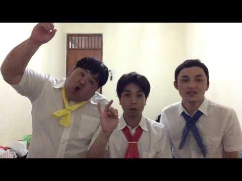 THE THREE komedian jepang di indonesia