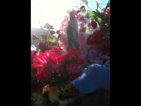 Devotos reciben a la Virgen de Lourdes en el Muelle de Taltal